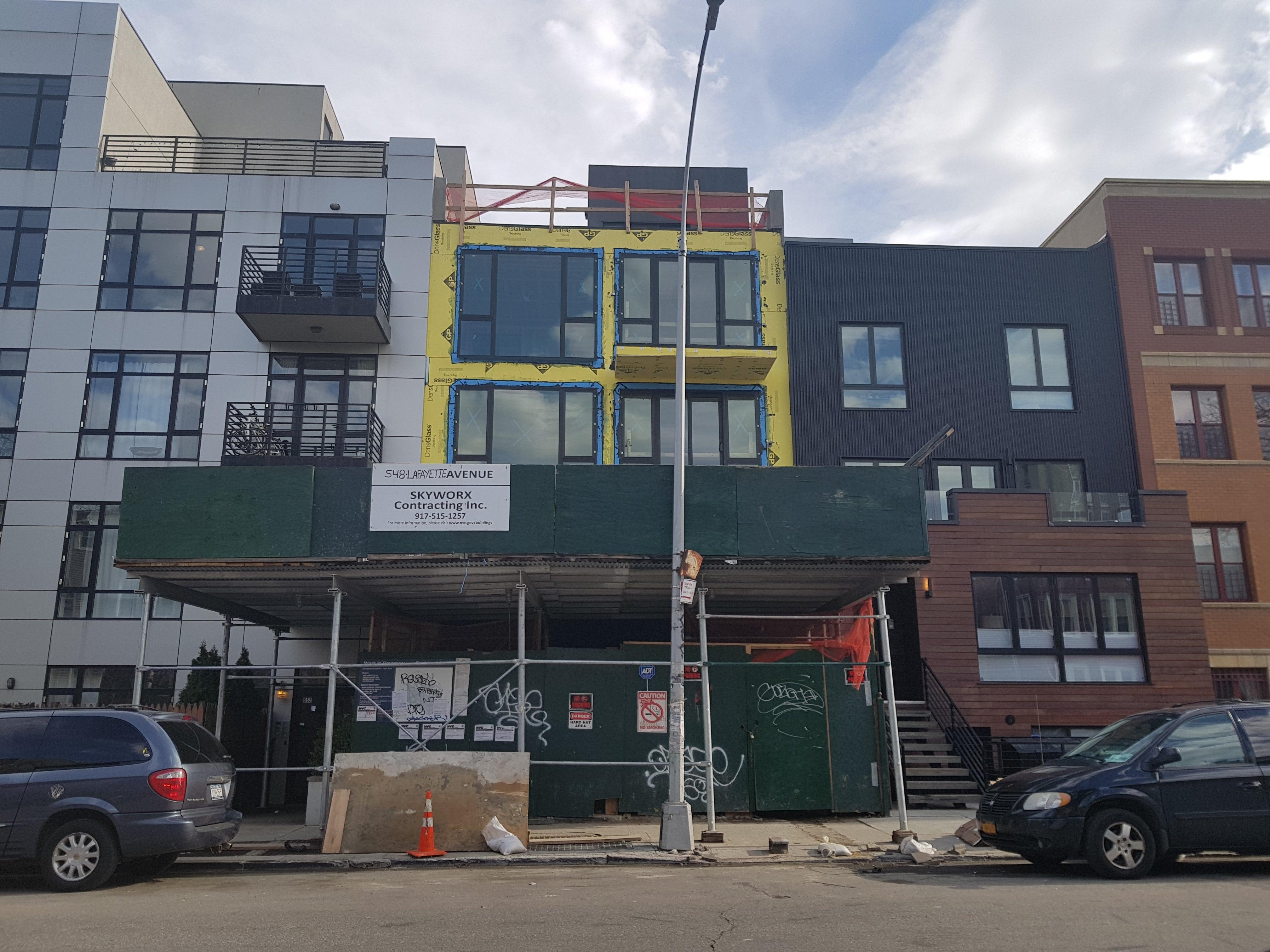 Lafayette 546 St., Brooklyn. NY